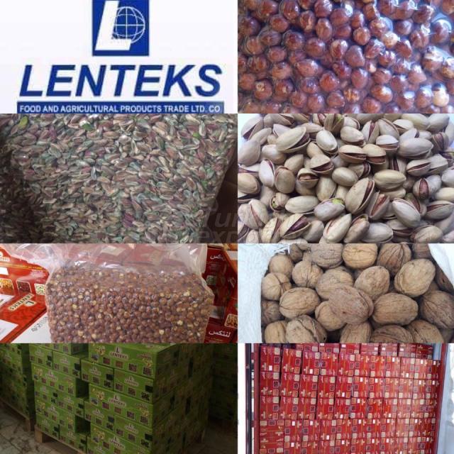 Турецкие орехи и фисташки