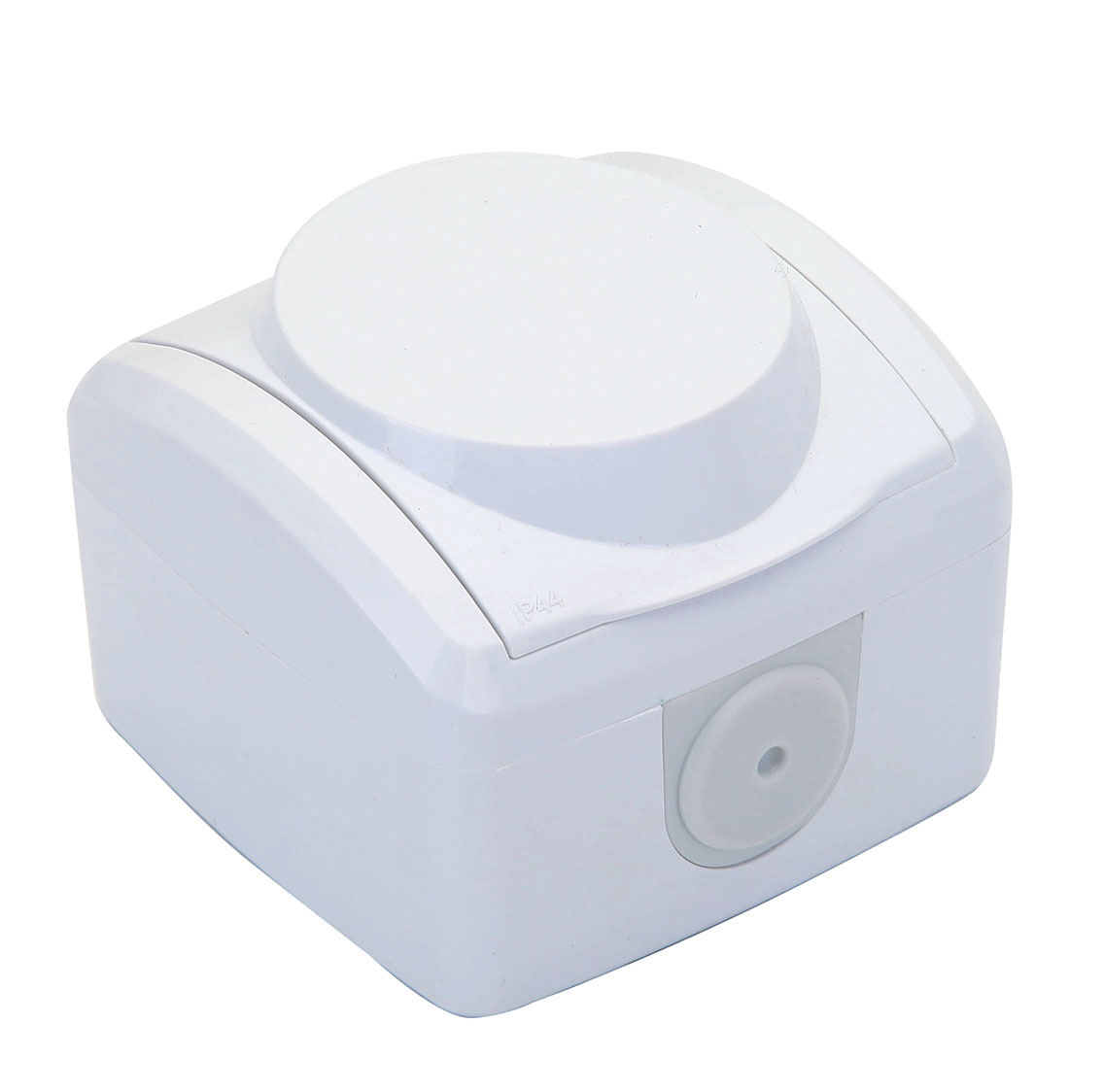 IP44 EARTHED SOCKET OUTLET WITH OR WITHOUT COVER