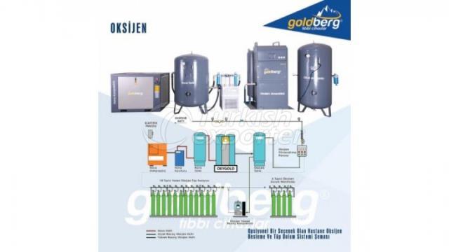 Oksijen ve Azot Üretimi ve Depolama Sistemi