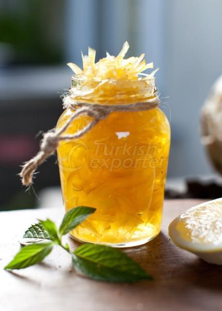 Şuruplu Limon Kabuğu Şekerlemesi