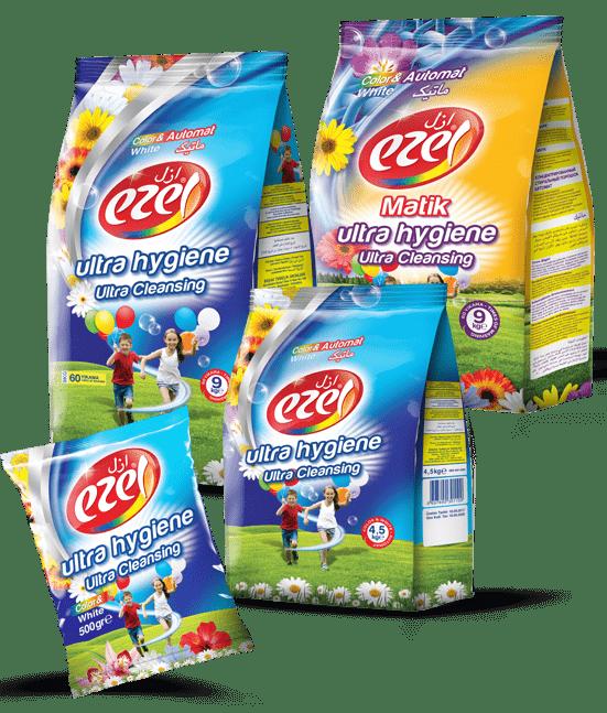 Powder Detergent packaging