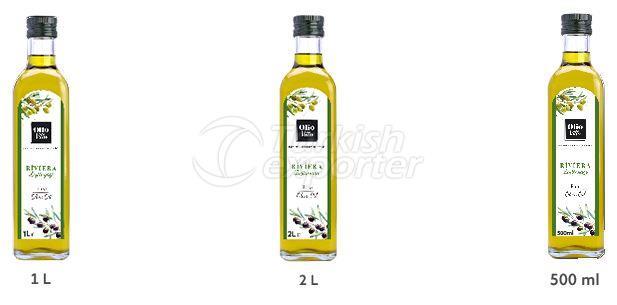 Riviera Olive Oil Glass Bottle