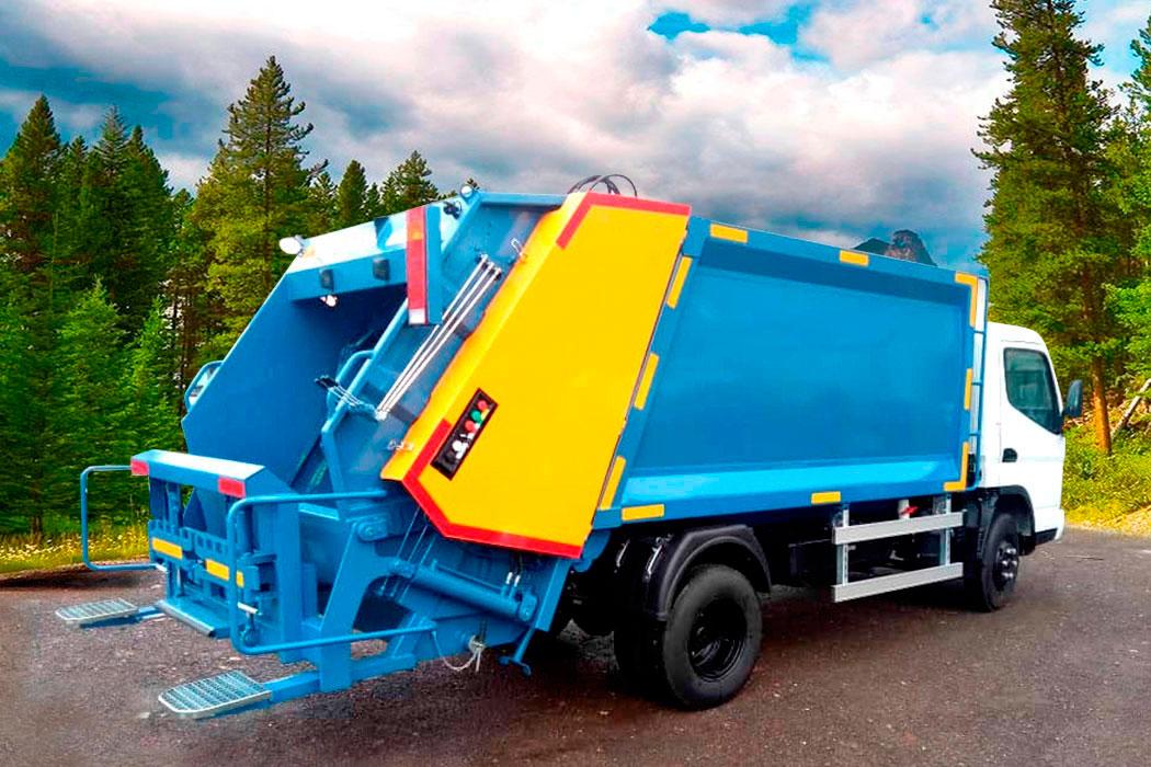 Compactador de basura