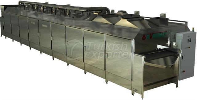 High Capacity Nut Roasting Machines