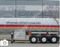 LPG Tank Trailer 45 m3