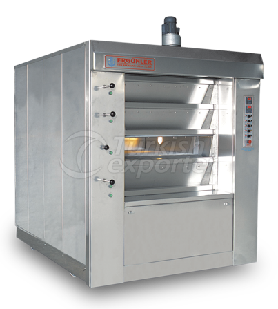 Stone-Based Folded Bread Oven