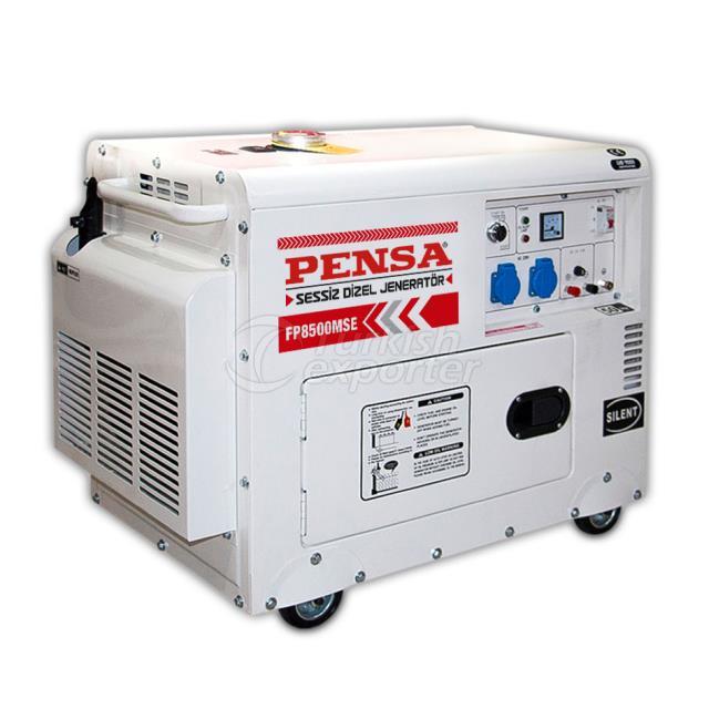 pensa cabin diesel generator starte