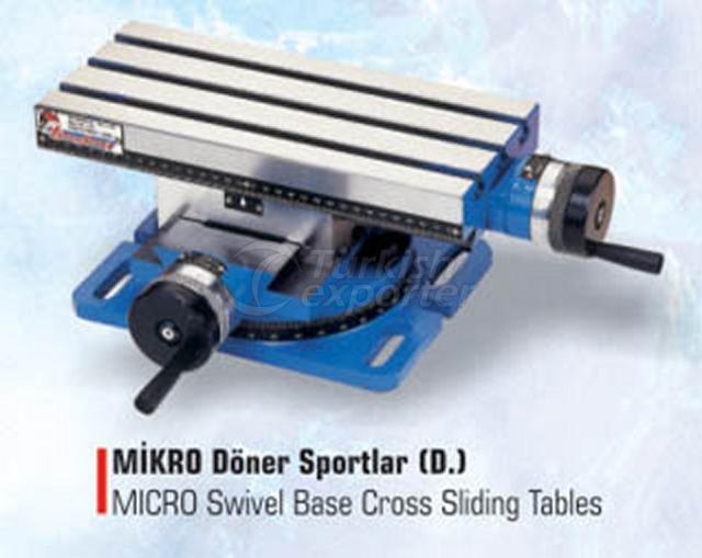 Micro Swivel Base Cross Sliding Tables