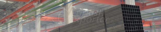 TS EN 10305-5 Kare Kutu Profilleri