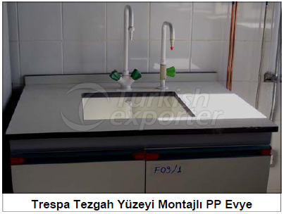 Trespa Bench Surface Sink