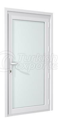 PVC Locking Doors