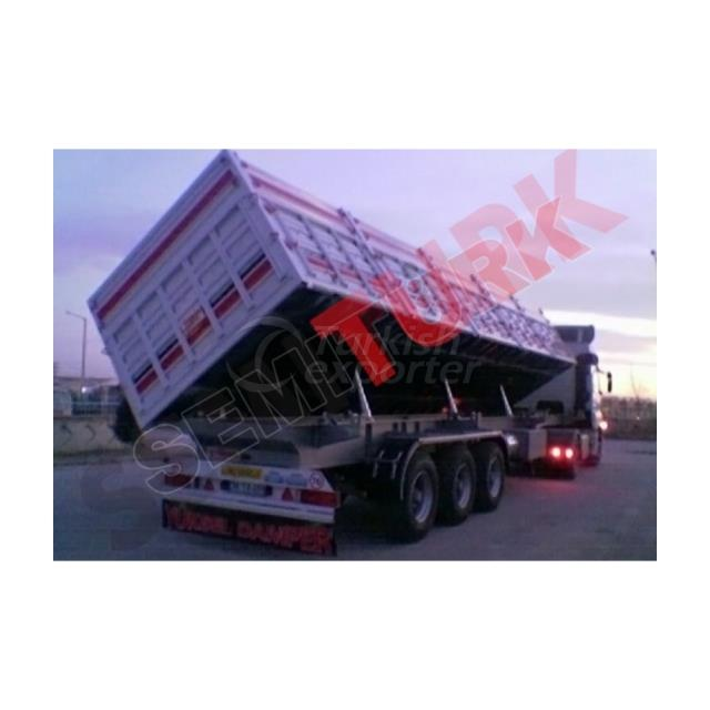 SIDE MOTION TIPPING SEMI-TRAILER