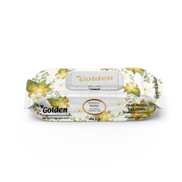 Влажные салфетки Golden 72 шт.