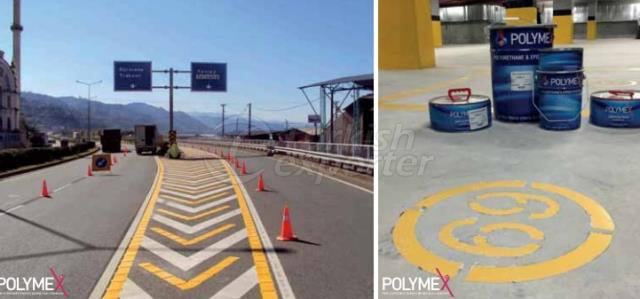 Water-based Acrylic Road Marking Paint