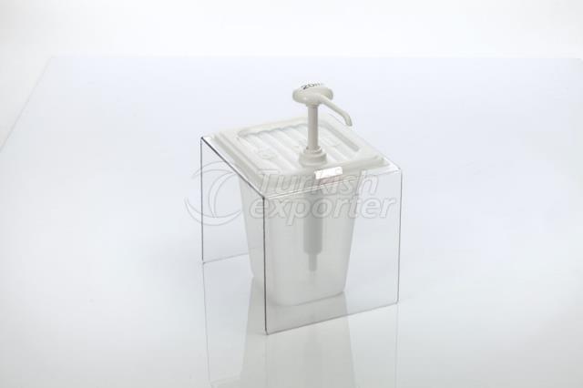 PP Mayonnaise Dispenser Single