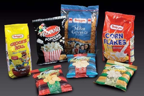 Packages for Chips and Cereals