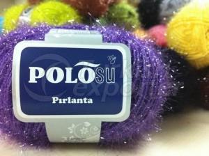Lurex Yarn Purple