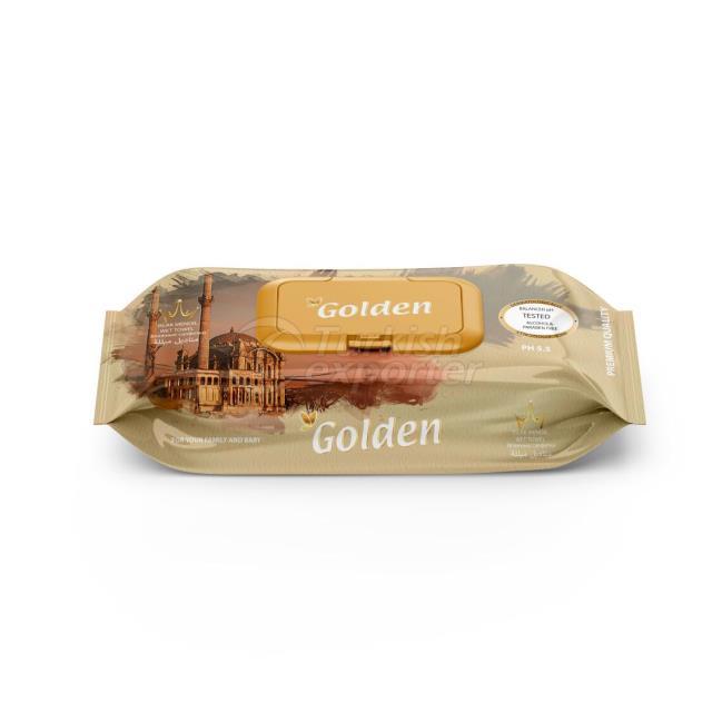 Влажные салфетки Golden 100 шт.