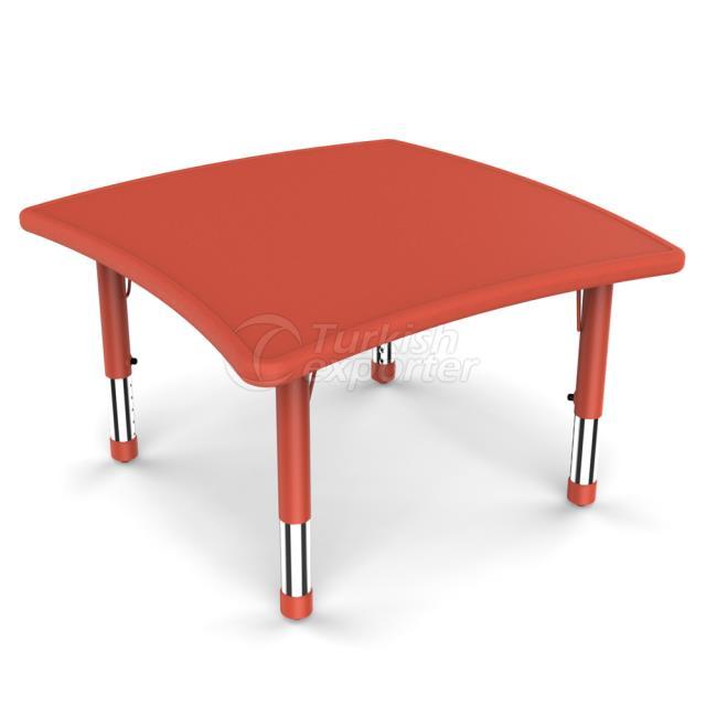 Yucai Floating Square Table-86x85.5x40 60cm YCY-096