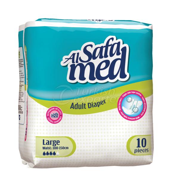 AlsafaMed Adult Diapers