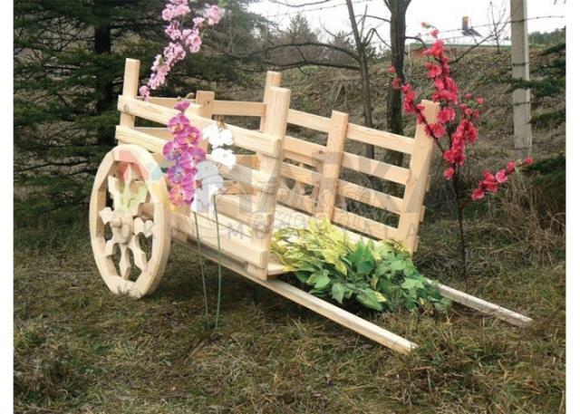 Decorative Wooden Flower Pots