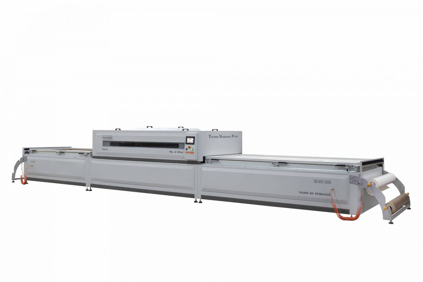 Vacuum membrane press machine WP4 OTM full automatic 3 table laminating machine