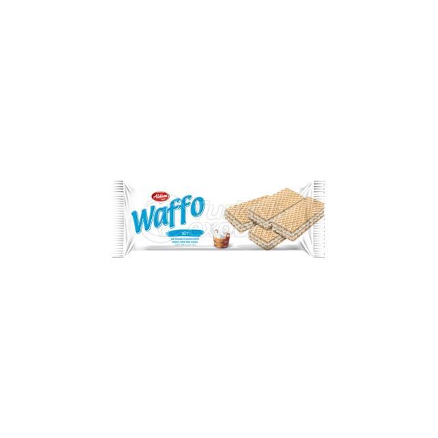 Waffo Süt Kremalı Gofret