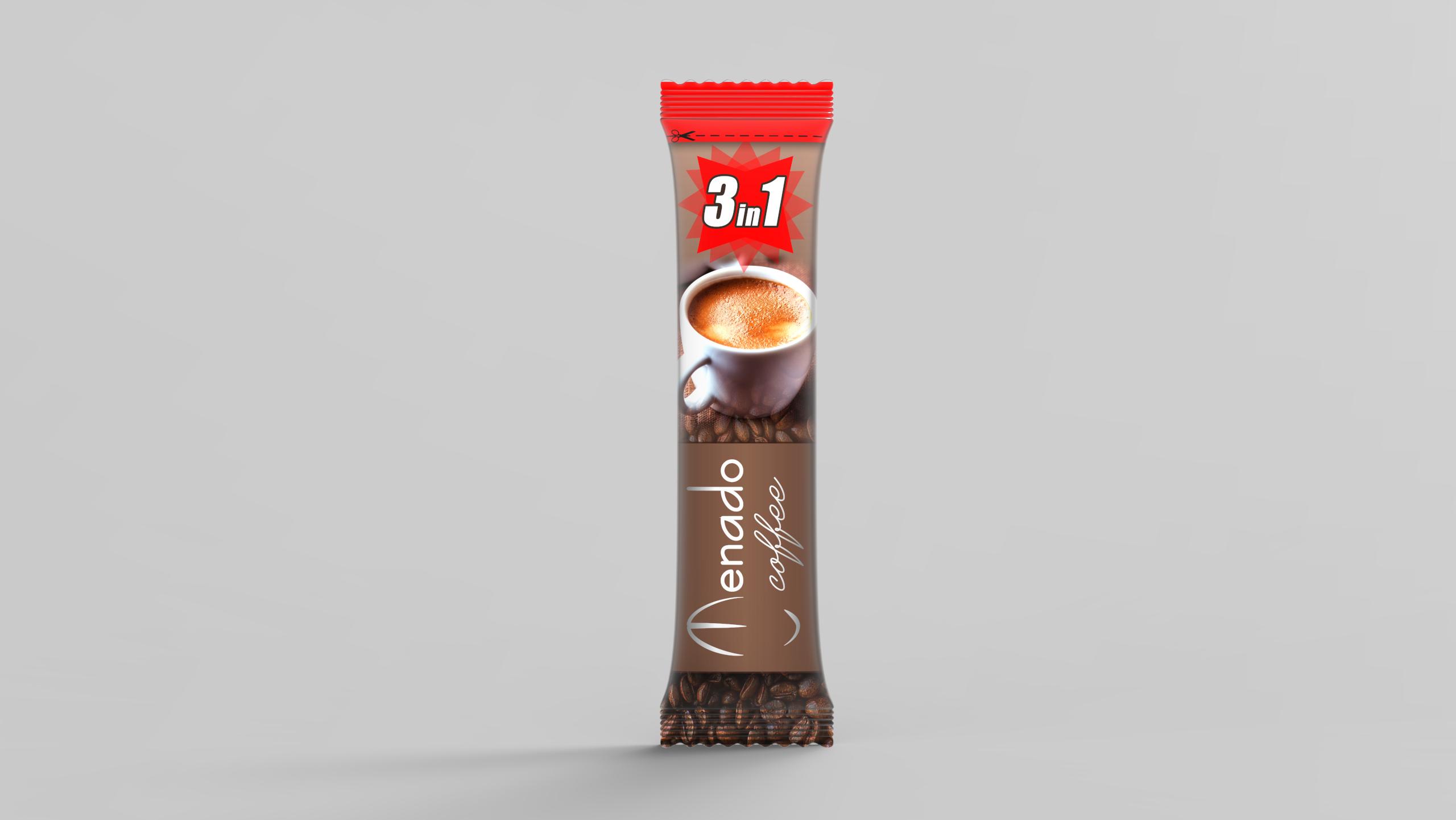 Menado - 3in1 Instant Coffee - 18 gr.