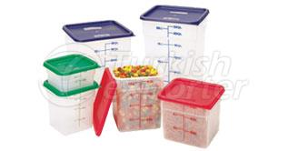 Polypropylene (Translucent) Storage Containers