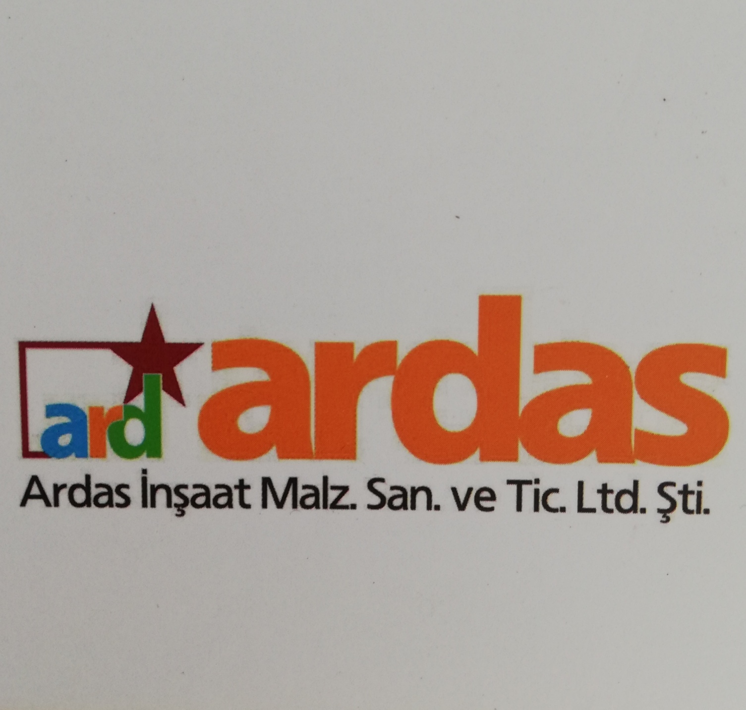ARDAS CONSTRUCTION MATERIALS LIMITED COMPANY