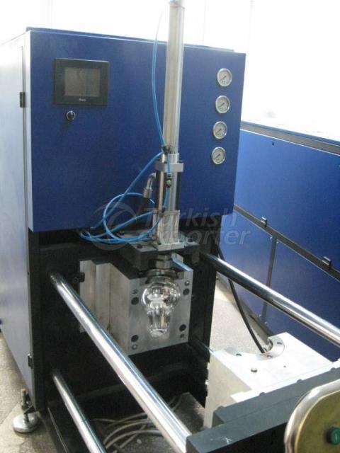 Yarı Otomatik PET Şişe Şişirme Makinaları ESHF1 PMMA SML