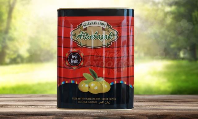Зеленый оливковый
