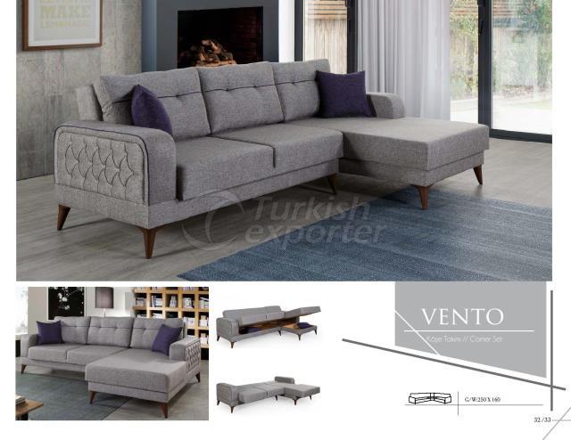 Vento Corner Set