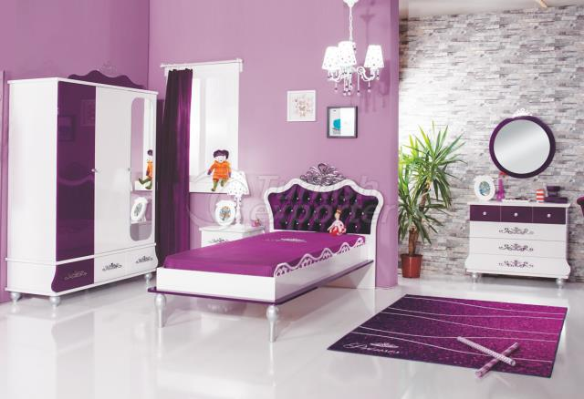 Young Rooms Prenses Purple