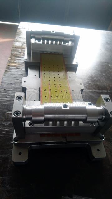 Produção da máquina de impressão Clishe Puching
