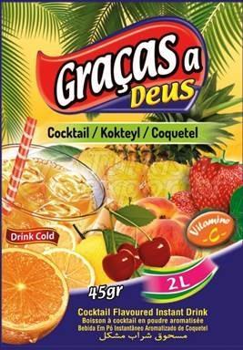 Powder Drink Gracasa Deus