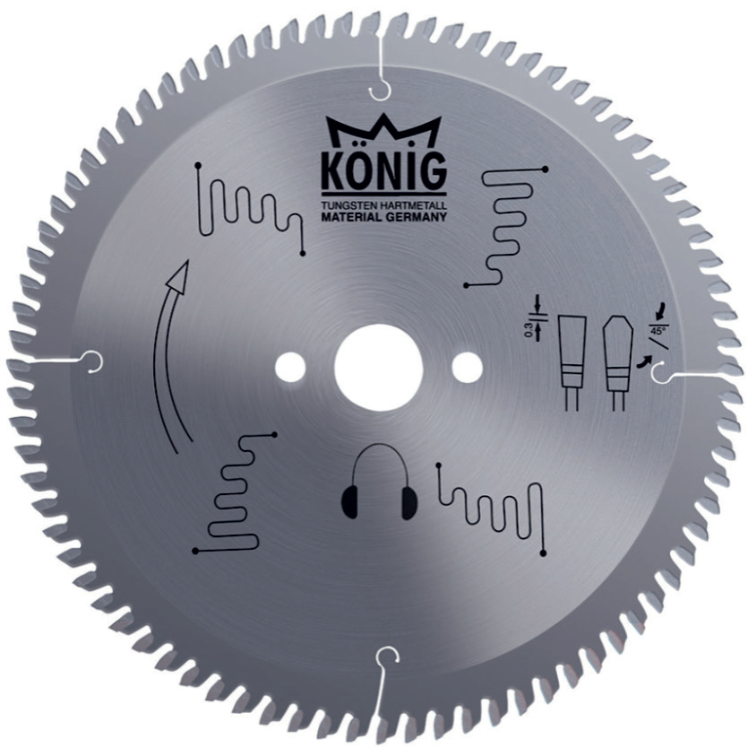 Saw Blades For Wood / Aluminum / Pvc