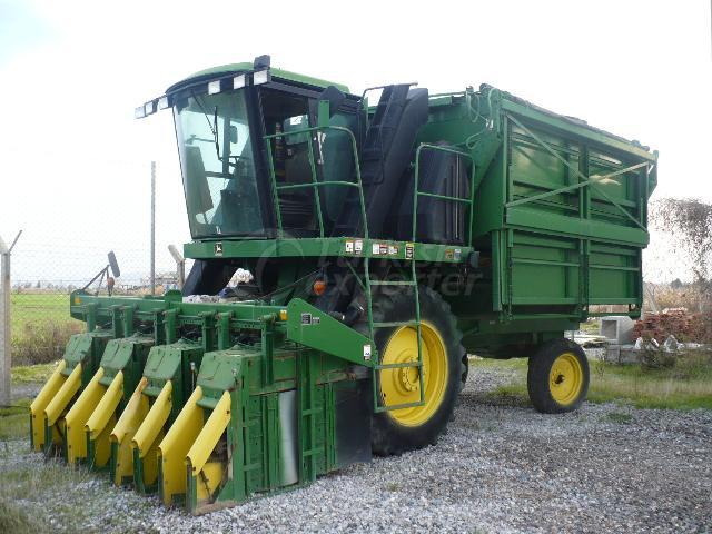 USED CUTTON HARVESTER MACHINE JOHN DEERE