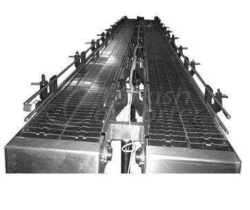 Transportador Caterpiilar De Aço Inoxidável