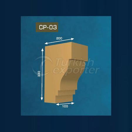 Gypsum Corbel CP-03