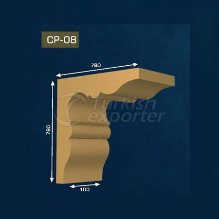 Gypsum Corbel CP-08