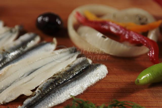 Vegetable Anchovy Fillet