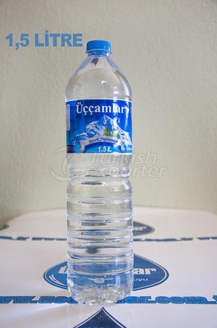 مياه ينابيع الطبيعية  1.5 لتر