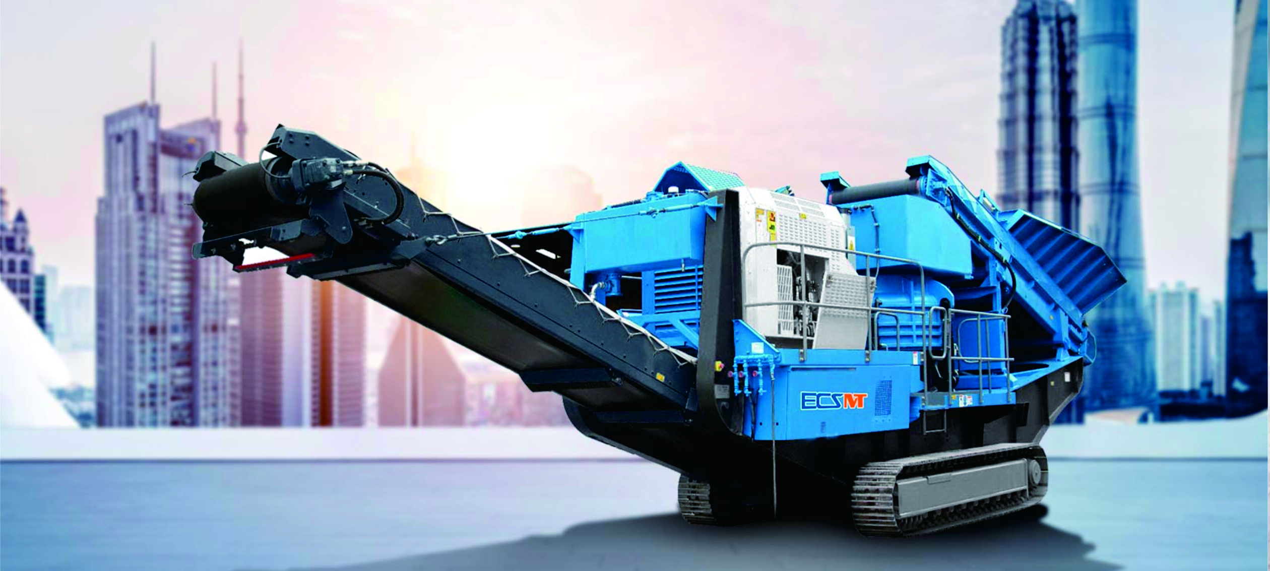 EMC130(RS) Tracked Mobile Cone Crusher
