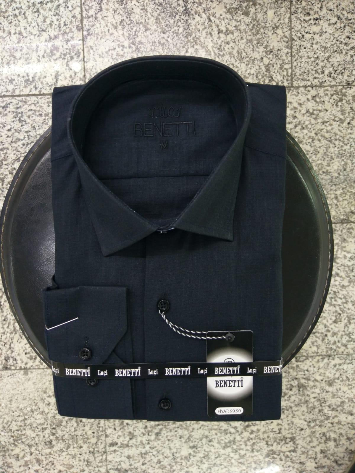 Chemises Homme Uni Classique