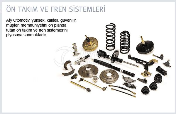 Front Tool and Brake Systems