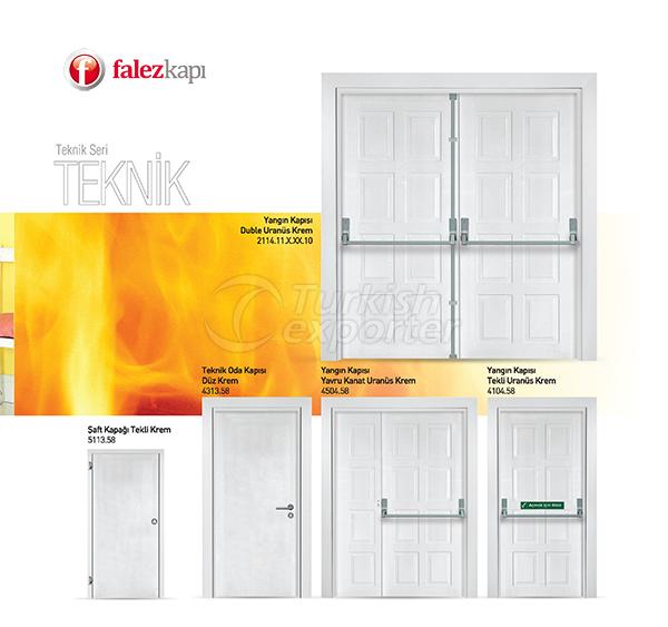 Portas de Saída de Incêndio e Técnicas