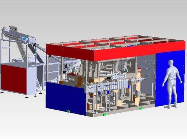 Pet Şişe Şişirme Makinaları ESFA5-SCV-HS