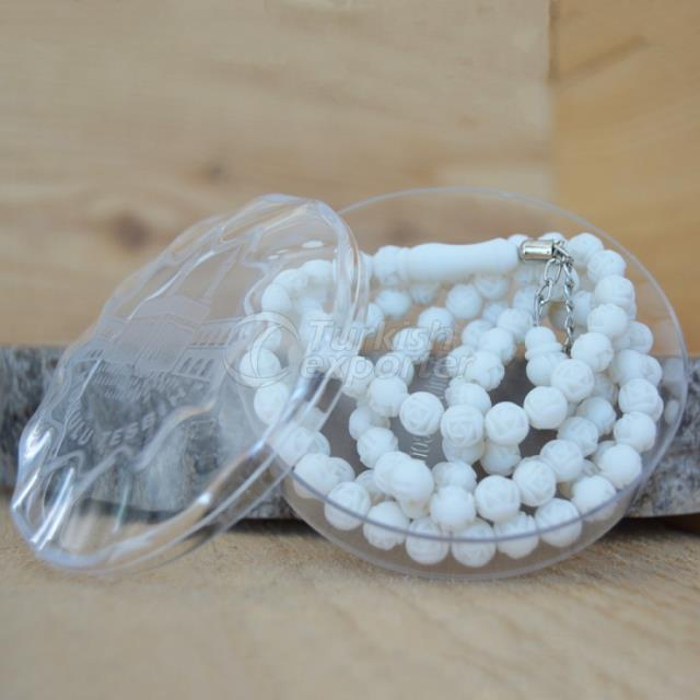 White Scented Rosary