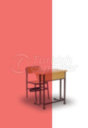 DESKS AND TEACHER TABLES